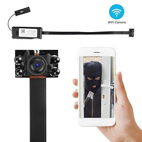 DIY HD 1080P WIFI IP SPY camerca Network night vision IR mini DV camera Recorder