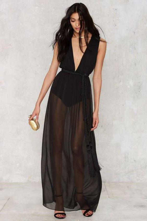 Nasty Gal The Madness Sheer Dress