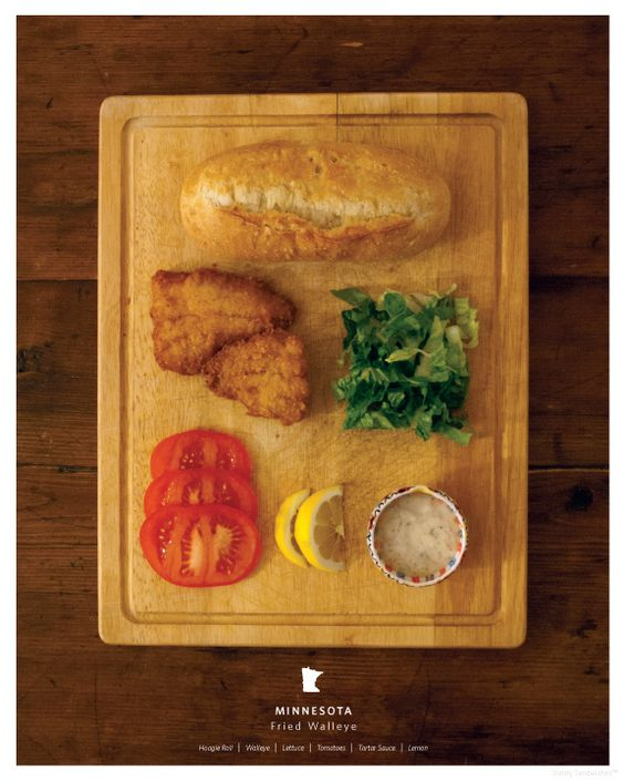 Minnesota - Stately Sandwiches  Fried Walleye
