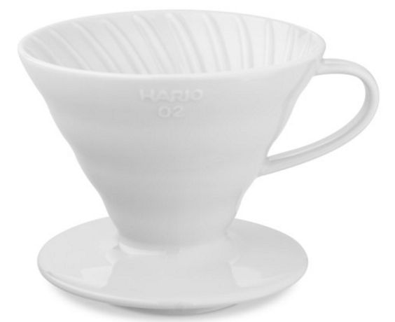 Ceramic Pour-Over Coffee Dripper