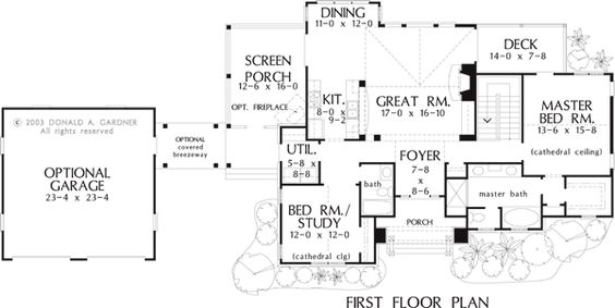 The Riva Ridge House Plan Images   See Photos of Don Gardner House    The Riva Ridge House Plan Images   See Photos of Don Gardner House Plans      f