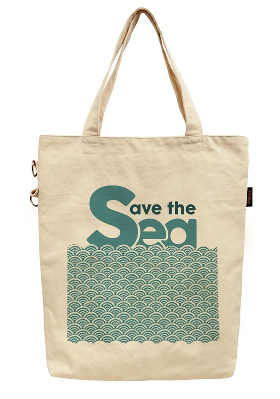 Download Save The Sea Clm0710460 Handmade Tote Bag Tote Bags Handmade Handmade Tote Bags
