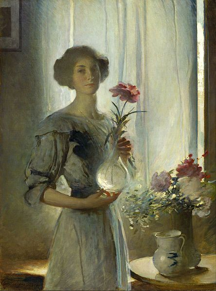 John White Alexander (1856–1915) - June, circa 1911 - Oil on canvas: