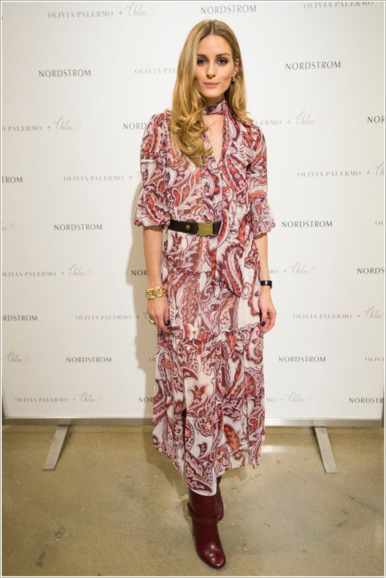 Olivia Palermo Promotes Chelsea 28 Collection at Nordstrom in Dallas