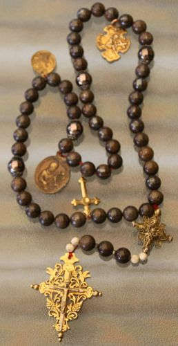 German antique rosary 1820