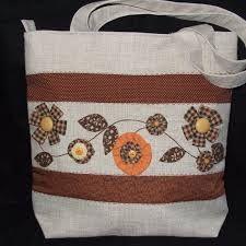 Resultado de imagem para bolsas artesanal