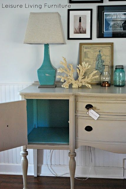 I really want a buffet like this. Finding Fabulous ~ refinishing furniture