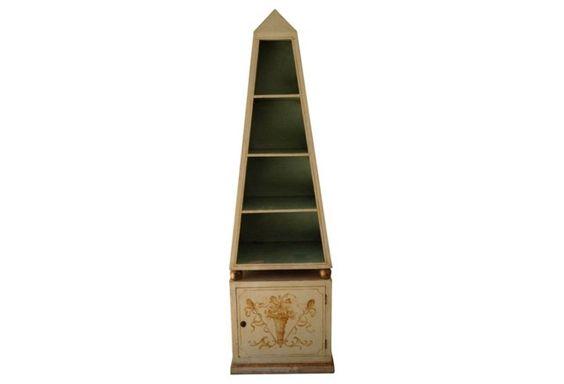 French Obelisk Bookshelf