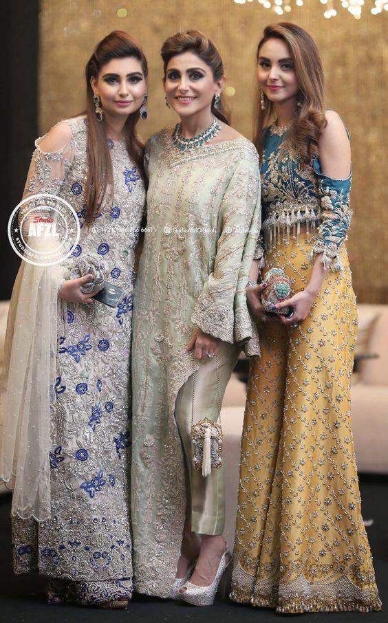 Brides Sister In Law Aunt And Cousin Stylish Dress Designs Pakistani Dress Design Shadi Dresses