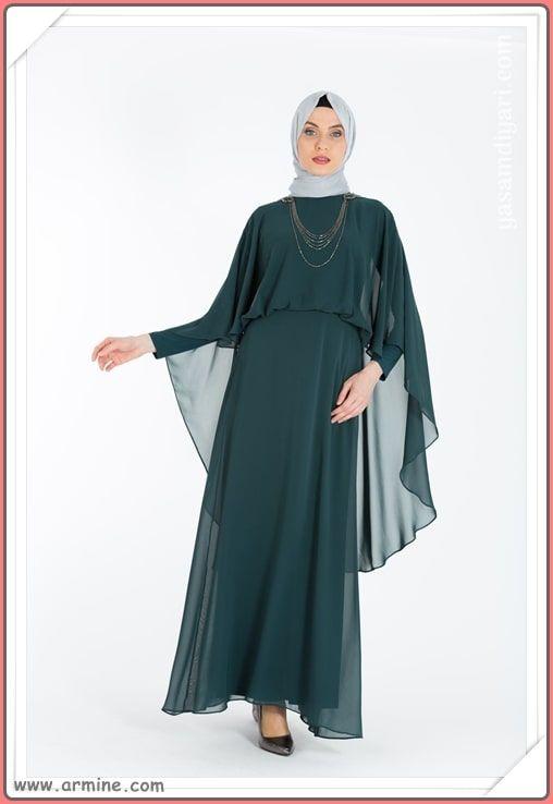 Armine Tesettur Abiye Modelleri 2019 Lookbook Elbise Modelleri Elbise Moda