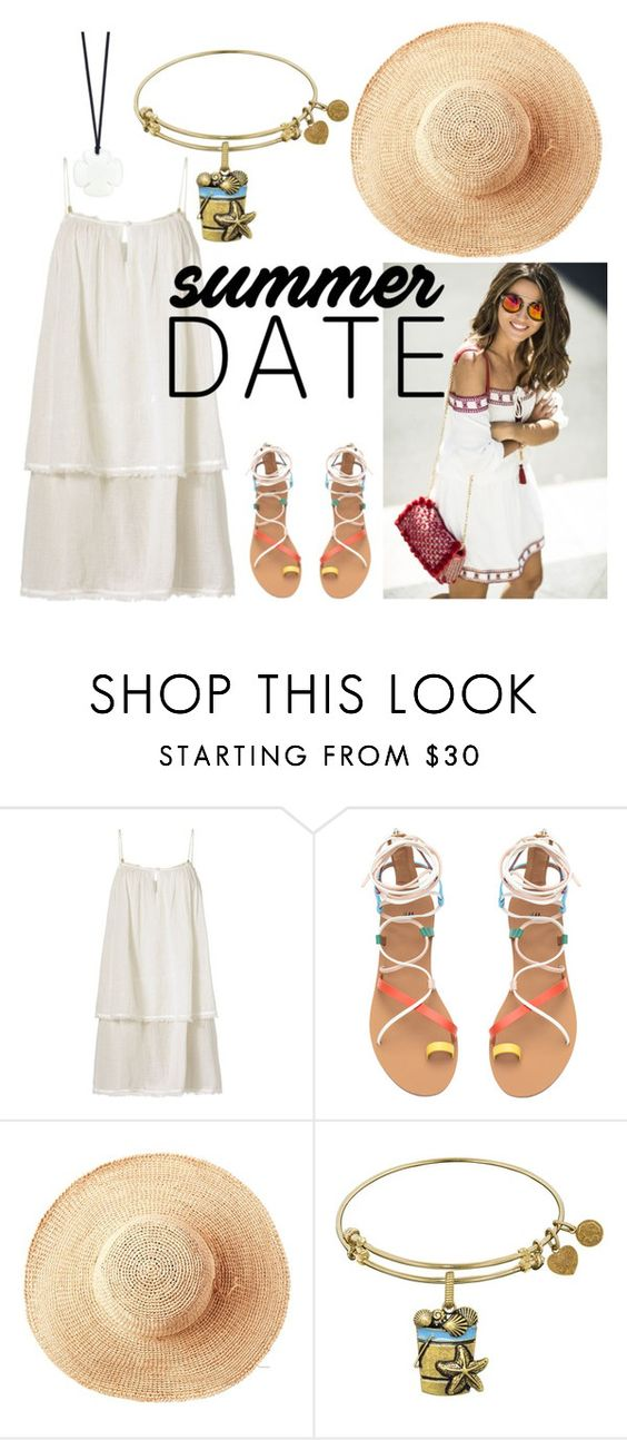 """Summer Date with a Floppy Hat"" by sarahkd ❤ liked on Polyvore featuring Heidi Klein, Toast and Asha by ADM"