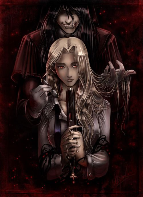 Hellsing - Alucard and Integra