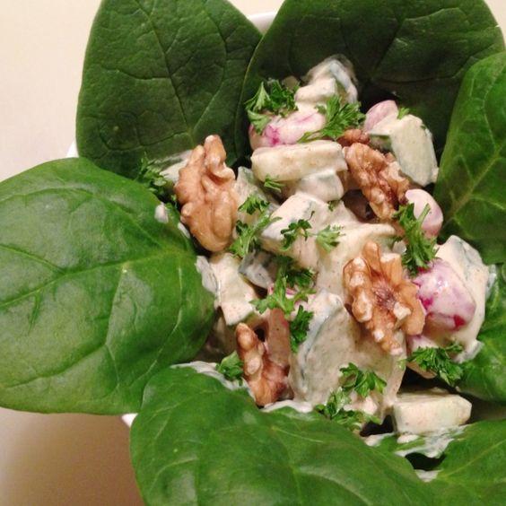 5x quick and healthy spring salad | 5x makkelijke en gezonde lente salades | Recipes on www.francescakookt.nl