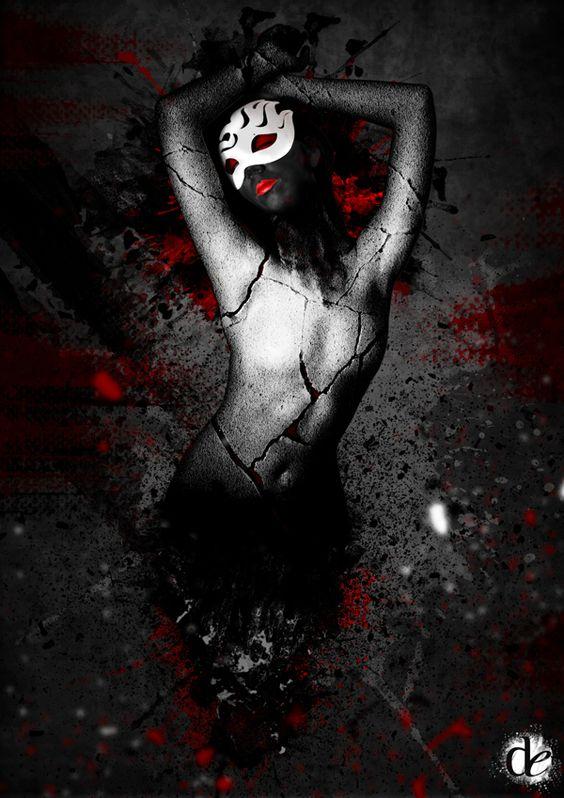shemask by Denis Espinoza, via Behance