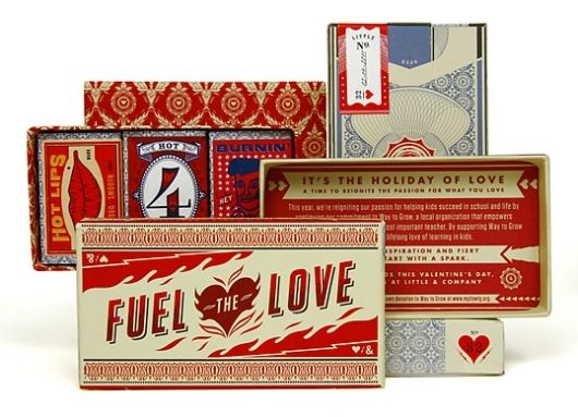 Little & Company Valentine packaging PD