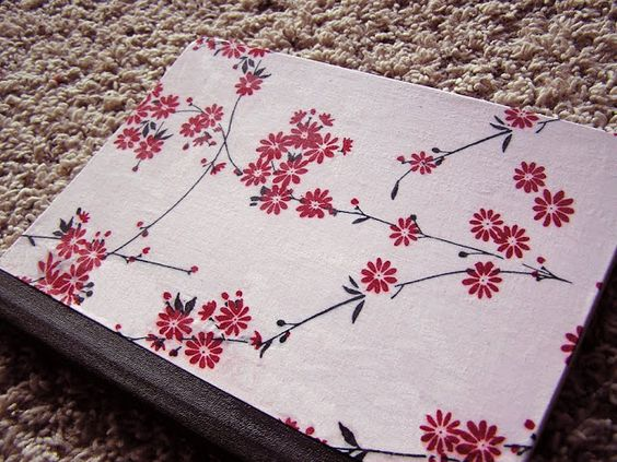 The Handy Hausfrau: Fabric Covered Composition Notebook