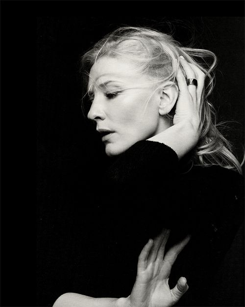 Cate Blanchett by Gary Heery --- my favorite contemporary actress and style icon
