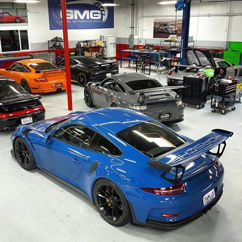 The Folks At Gmgracing Just Got In A Pts Golf Blue W91 Rs 1 Of 2 Known In North America To Get The Usual Track Upgrades Setup Behind I Porsche Gt3 Porsche