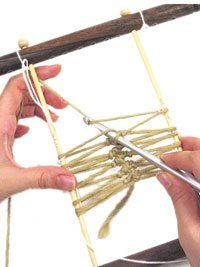 How to Crochet Hairpin Lace