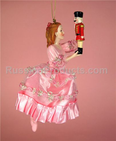 Russian Products – Clara and the Nutcracker Ornament for Holiday Tree, Souvenirs & Gifts, Season...