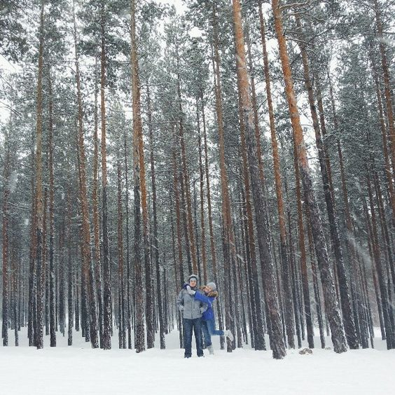 Travel, Kazakhstan, Borovoe, Snow