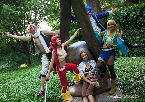 Fairy Tail Cosplay - Happy Family A-Kon 24 by firecloak.deviantart.com on @deviantART