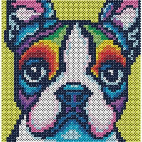Perler Beads Rainbow Terrier Beading Kit In 2020 Hama Beads Design Perler Beads Designs Perler Bead Art