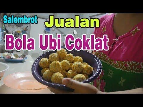 Lembur Membuat Bola Ubi Coklat Untuk Jualan Salembrot Youtube Food Breakfast Make It Yourself