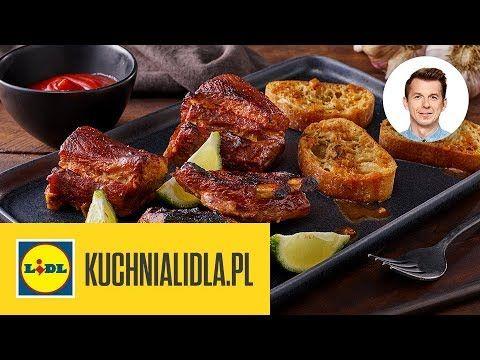 Pieczone Zeberka Karol Okrasa Kuchnia Lidla Youtube Food Meat Chicken