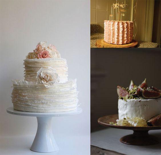 gorgeous cakes via Wit + Delight