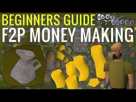 This Is A Beginners Money Making Guide In Old School Runescape