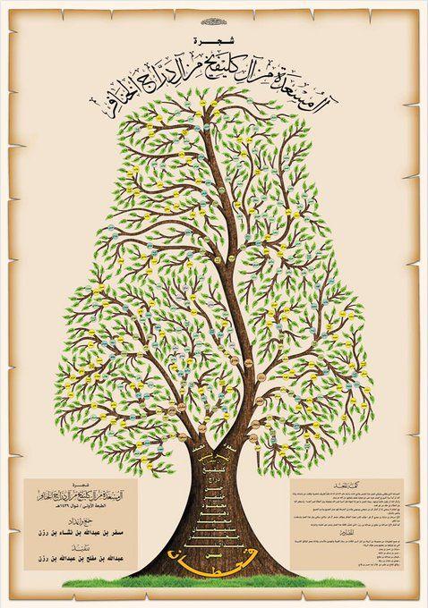 تصميم شجرة العائلة On Twitter Contractors