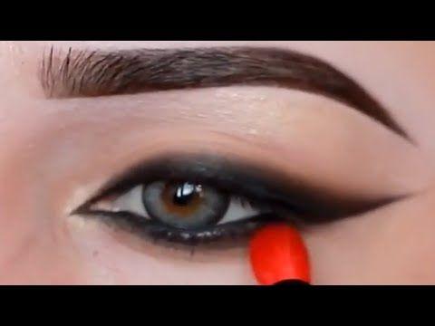 أكثر من 20 حيلة و طريقة لرسم الأيلاينر بسهولة و إحترافية Youtube Makeup For Beginners Simple Makeup Eye Makeup