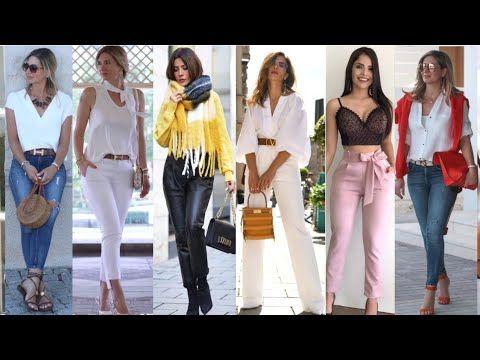 Pantalones De Moda Mujer 2020 Modelos De Pantalones De Mujer En Tendencias Pantalon Casual Y Formal Pantalones De Moda Mujer Pantalones De Moda Moda Para Mujer