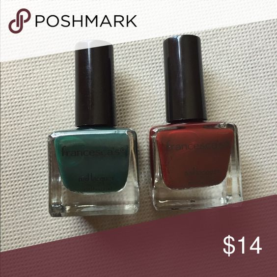 Francesca's nail lacquer bundle New/unused • Colors: On The Hunt & Oh My Oxblood Francesca's Collections Makeup