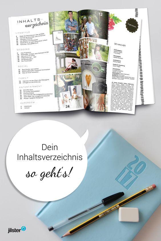 Inhaltsverzeichnis Erstellen Fur Deine Zeitschrift Jilster Blog