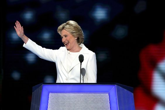 Here's Hillary Clinton's Historic Nomination Speech At The Democratic Convention