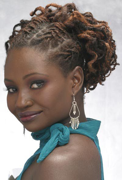 natural hair loc styles updo style and locs on 4293 | b7c1b24533292c8772eb54c4ce1144ad