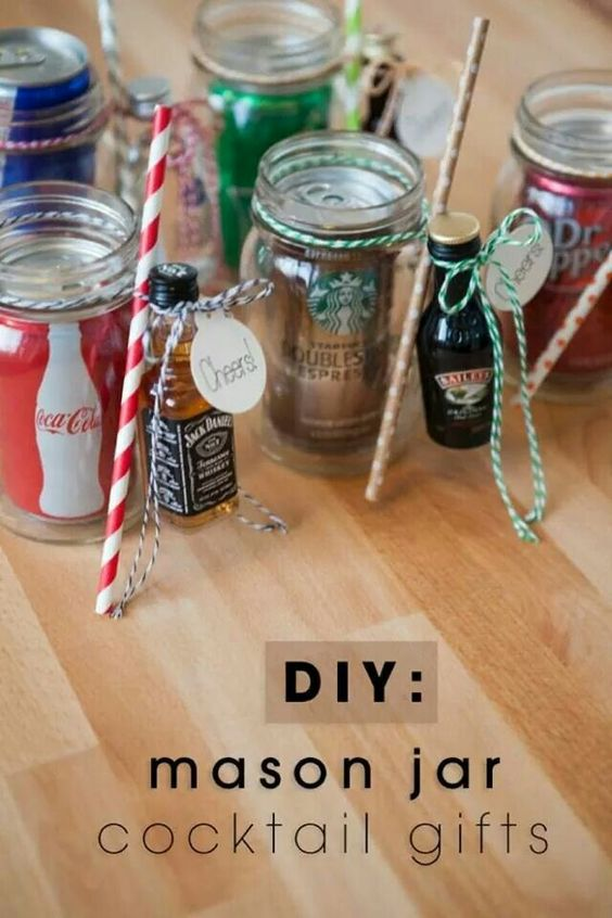 Cute! Could also swap out for mini bottles of water with little bottles of flavor! !!: