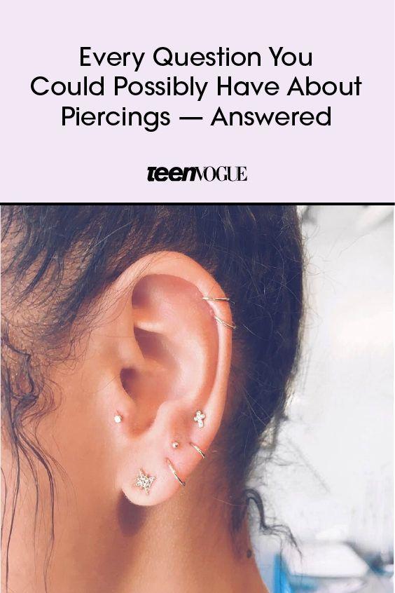 Pin On Ear Pierce