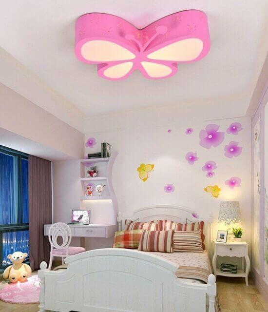 أشكال ديكورات فراشات جبس بورد غرف نوم بنات In 2021 Ceiling Lamps Living Room Butterfly Lamp Ceiling Design
