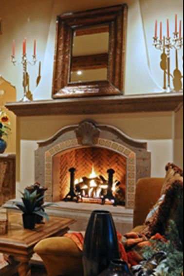 Spanish design fireplaces pinterest spanish for Spanish style fireplace