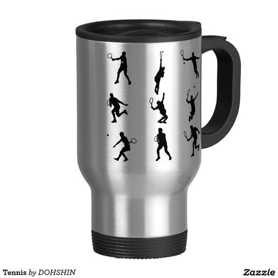 Tennis ステンレス製トラベルマグカップ