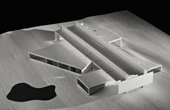 casa projeto - east hampton - angelo bucci - 2007 - model
