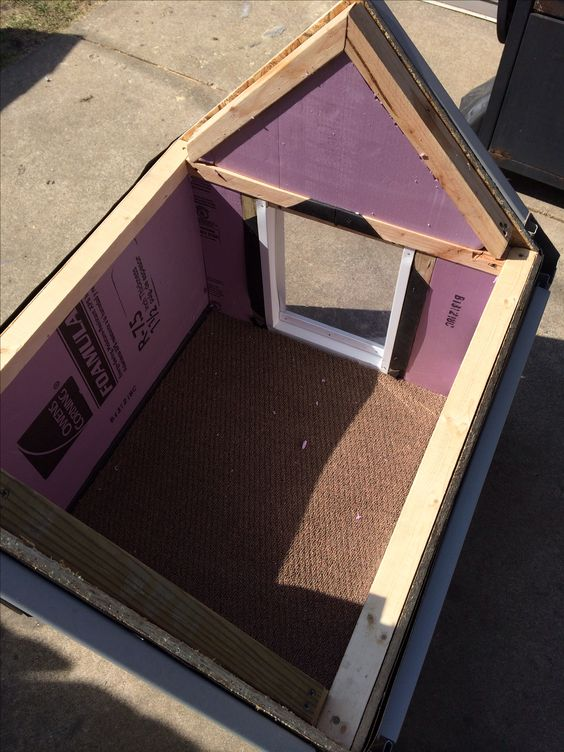 DIY dog house insulated | DIY dog house | Pinterest | Dog ...