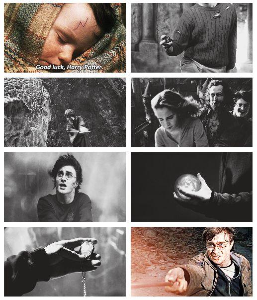 Good luck, Harry Potter.