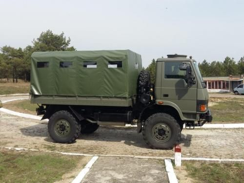 Tata Lpta 713 Tc With Images Military Vehicles Armored