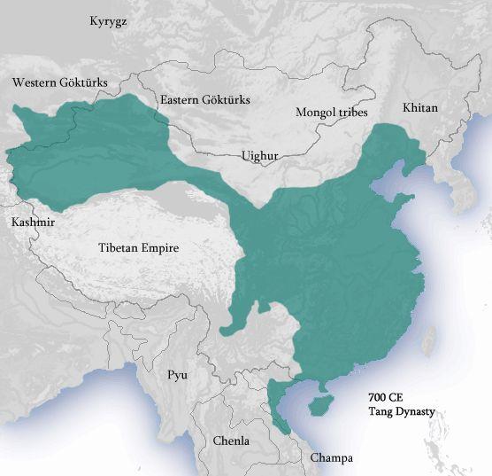 Tang Dynasty 618 907 Chinese History Ancient China