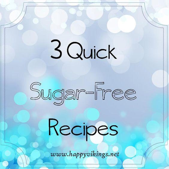 Sugar-Free Recipes  http://happyvikings.net/blog/2016/1/3/sugar-free-recipes