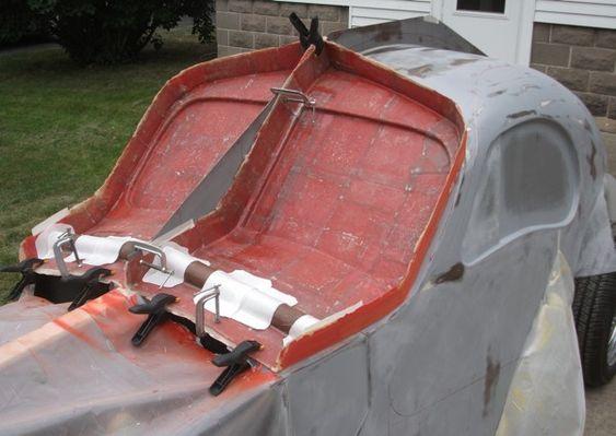 Bugatti Atlantic replica